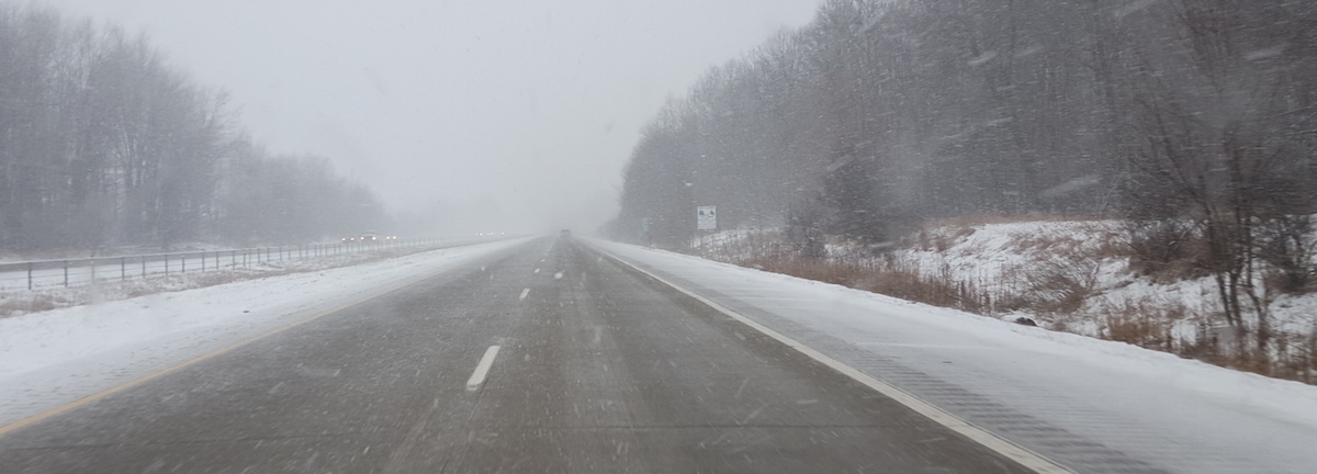 Michigan Ski Report Trip
