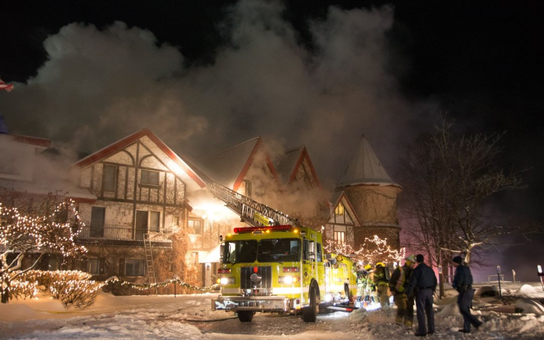 [Updated] Fire Damages Boyne Highlands Main Lodge Hotel
