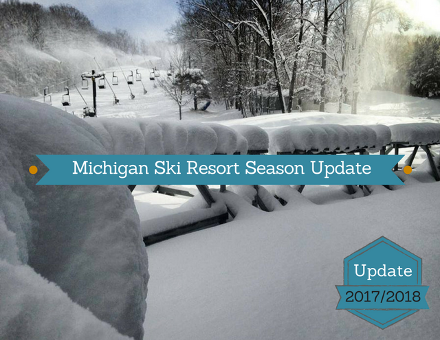 What's New at Michigan Ski Resorts 2017/2018 Season