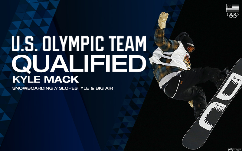 Michigan's Kyle Mack Qualifies for Olympic Snowboard Team